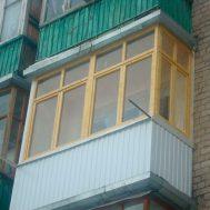 Osteklenie Balkona Derevom